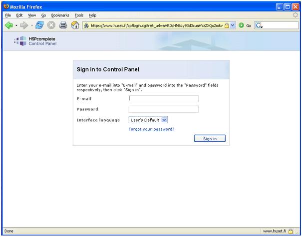 F 228 ltet password du loggar in genom att klicka p 229 knappen sign in